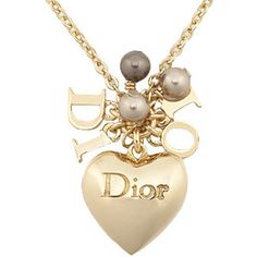 Dior Heart Necklace