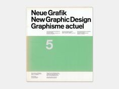 Display | Neue Grafik Magazine 5 | Collection