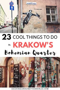 Get off the beaten track in the Krakow Jewish Quarter; Kazimierz, and explore this vibrant and fun little artisan enclave full of history. In this super detailed guide we'll share the best historic… Europe Destinations, Europe Travel Guide, Travel Guides, Holidays Around The World, Travel Around The World, Europe Must See, Visit Poland, Ukraine, Poland Travel