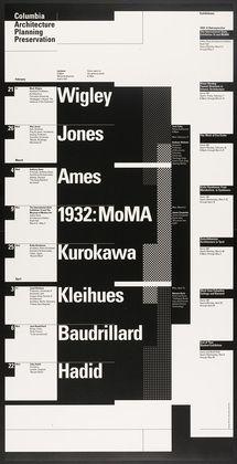 Willi Kunz. Columbia University, Graduate School of Architecture, Planning and…