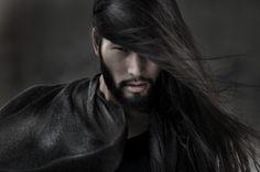 Beautiful Japanese man with long hair - Male Model - Zimbio