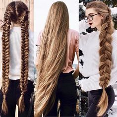 @girls.with.beautiful.hair Twin braided hair or loose hair or single braided hairthank you to @lyuba_tyshchenko her hair maybe 100% pin straight, curly or even regardless of its color, her hair is among the most beautiful,delightful and charming you have ever seen on this page❤️ tag your friends who have the similar hair like her hair . . . . . . #inspire#inspirational#longhair#hair#hairgoals#followforfollow#longhairdontcare#beautiful#like#rapunzel#buzzcut#cheveuxlongs#cheveux#phot...
