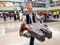 The Best Han Solo Cosplay You'll See Today [Pic]