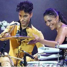 Prince and Sheila E xx ❤️
