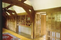 Chapter 17 - English Arts and Crafts - Interior Design - Second Floor Hall, The Orchards, 1897, Surrey, England; Sir Edwin L. Lutyens