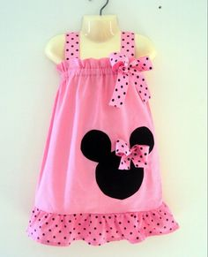 This is the. cutest. Minnie Mouse dress I have seen ANYWHERE
