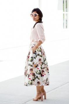 Summer Florals and Blush