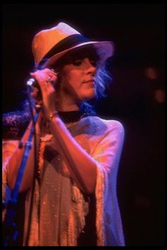 Stevie rocking a fedora