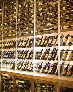 Wouldn't you want this wine inventory at home? ART Restaurant's floor...