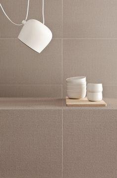 Revêtement de sol/mur en grès cérame PICO RED DOTS GRIS by MUTINA design Ronan & Erwan Bouroullec
