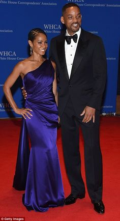 Will Smith and Jada Pinkett-Smith at the White House Correspondents' Dinner  | Daily Mail Online