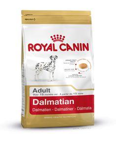 Speziell für den ausgewachsenen #Dalmatiner ab dem 15. Monat. DALMATIAN ADULT enthält ausgewählte Proteine mit geringem Puringehalt und kann so die Gesundheit der Harnwege unterstützen. http://www.royal-canin.de/hund/produkte/im-fachhandel/nahrung-fuer-rassehunde/ausgewachsene-rassehunde/dalmatian-adult/