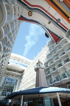 Allure of the Seas boardwalk. #cruise