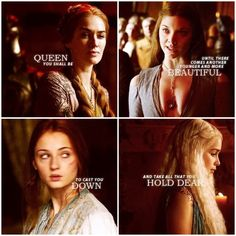 Queen you shall be until there comes another younger and more beautiful to cast you down and take all that you hold dear.