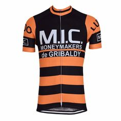 Retro 1974 MIC De Gribaldy Ludo Cycling Jersey d287a18ba