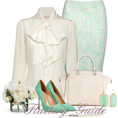 A fashion look from April 2014 featuring Jane Norman skirts, Sergio Rossi pumps and Milly tote bags. Browse and shop related looks.