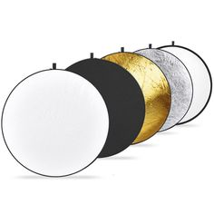 Was £17.95 > Now £16.09.  Save 10% off Neewer 43-inch / 110cm 5-in-1 Collapsible Multi-Disc Light Reflector with Bag #48, #5StarDeal, #Accessories, #CameraPhoto, #Electronics, #Lighting, #PhotoStudioLighting, #Under25