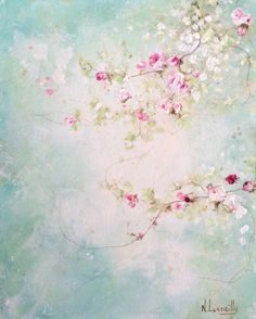 Art Floral, Paintings I Love, Watercolor Paintings, Ouvrages D'art, Art Original, Abstract Flowers, Painting Inspiration, Flower Art, Art Drawings