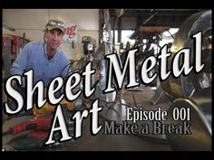 Sheet Metal Art For Beginners, Ep 3 Grind Texture Finish - YouTube