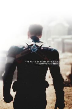 ''The price of freedom is high. It always have been.'' / Steve Rogers : Captain America