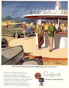 1946 ... oil and ice cream!