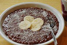 Schoko - Bananen - Kokos - Porridge 3