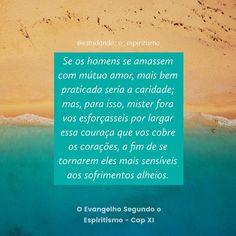 #estudando_o_espiritismo #espiritismo #allankardec #kardec #jesus #caridade #amor #instaespirita ...