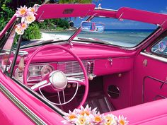 Even a pink interior!