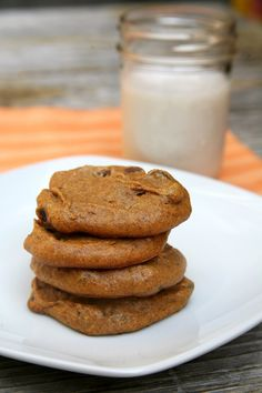 You won't believe how delicious these gluten-free pumpkin cookies are.