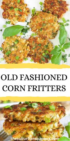 These Sweet Corn Fritters Are Crisp And Golden On The Outside, And Warm And Soft On The Inside. They Taste Like Delicious Balls Of Cornbread Heaven! . Food Dishes, Main Dishes, Sweet Corn Fritters, Salad Recipes, Dessert Recipes, Frozen Corn, Holiday Recipes, Easy Meals, Favorite Recipes