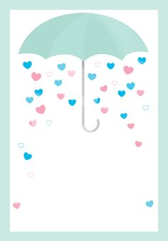 Shower with Love - Free Printable Baby Shower Invitation Template | Greetings Island