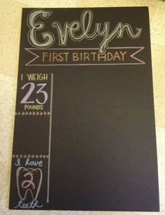 DeHart Diaries: Project: how to create a poster that looks like a chalkboard.