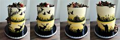 Hunting themed cake Themed Cakes, Hunting, Cupcakes, Cupcake, Theme Cakes, Cake Art, Muffin, Fighter Jets, Muffins