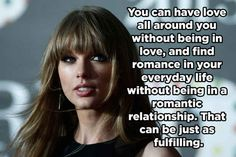 On living a romantic life without being in a relationship.