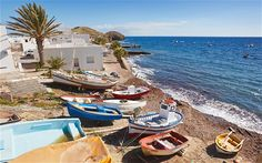 If the golden sands and sapphire waters of Andalucía aren't appealing enough, who could resist beachside restaurants serving fresh seafood? Spain Travel, France Travel, Spain Culture, Cities, Morocco Travel, Countries To Visit, The Beautiful Country, Spain And Portugal, Best Hotels