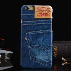 iPhoneケース スマホケース スマートフォン/スマホカバー ハードケース デニム ジーンズ プリント ip5s