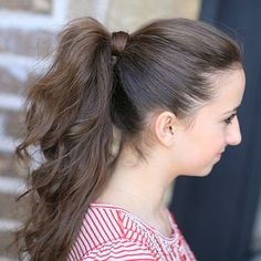 The Perfect Ponytail   20 Little Girl Hairstyles