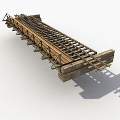 Old Wooden Railway Bridge Model available on Turbo Squid, the world's leading provider of digital models for visualization, films, television, and games. Ho Trains, Model Trains, Garden Railings, Bridge Model, Model Railway Track Plans, Garden Railroad, Model Train Layouts, Nightmare On Elm Street, Scenery