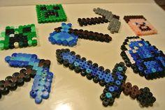 minecraften met strijkkralen