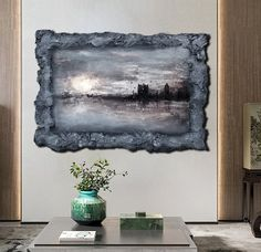 Wall Art Abstract Painting Texture Wall Art Resin Art Wall Art Large Painting on Canvas Original London Landscape knife Sculpture Art Hanging Paintings, Unique Paintings, Your Paintings, Contemporary Paintings, Large Painting, Texture Painting, Acrylic Painting Canvas, Canvas Art, 3d Wall Art
