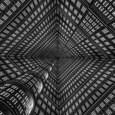 Schwindelerregende architektonische Illusionen von Fotograf und Psychologe Markus Studtmann   The Creators Project