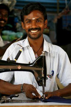 Street Tailor in Nagappatinam