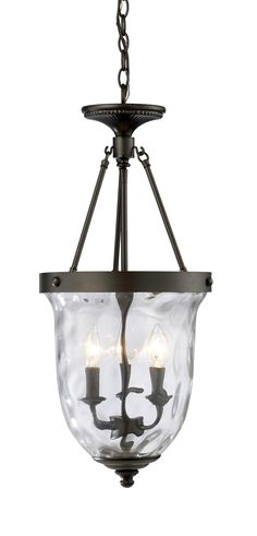 Landmark Lighting Yorkville 3 Light Hanging Lantern
