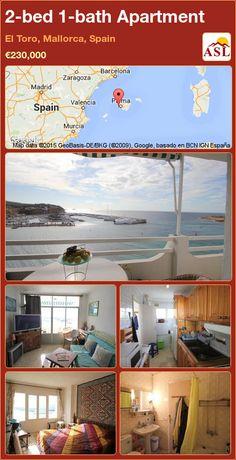Apartment for Sale in El Toro, Mallorca, Spain with 2 bedrooms, 1 bathroom - A Spanish Life Apartments For Sale, 2 Bedroom Apartment, Murcia, Spanish, Restaurant, Bathroom, Home Decor, Zaragoza