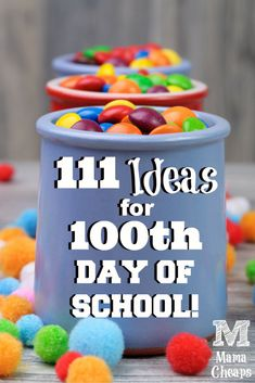 111 Ideas of Things to Bring for the Day of School! Huge list of easy, small items that kids can bring to school for the day celebration. 100 Day Project Ideas, 100 Day Of School Project, School Projects, 100 Days Of School Project Kindergartens, Kindergarten Projects, Kindergarten Classroom, Art Projects, The First 100 Days, First Day Of School