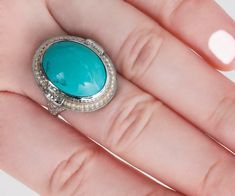 Items similar to Antique Ring - Antique Edwardian White Gold Turquoise Cabochon and Seed Pearl Ring on Etsy Antique Engagement Rings, Antique Rings, Antique Jewelry, Italian Gold Jewelry, White Gold Jewelry, Buy Gold Jewellery Online, Seed Pearl Ring, Edwardian Jewelry, Jewelry Armoire