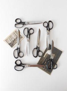 1960s Industrial Scissors