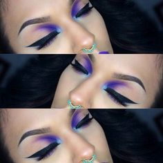 Reverse smokey eye from sugar pills instagram so pretty!