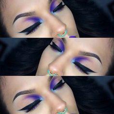 Reverse smokey eye from sugar pills instagram so pretty!