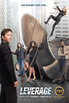 Leverage -- So sad it ended!  Will miss you Nate, Elliot, Sophie, Parker, and Hardison!